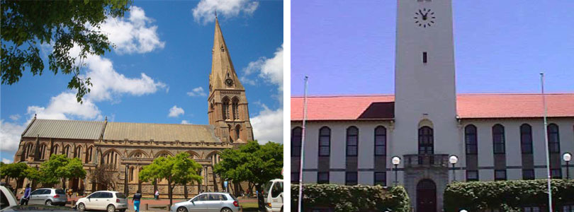 Grahamstown Cathedral, Church Square, Rhodes Clock Tower